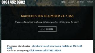 Manchester Plumber 24 7 365 - Plumbers Manchester