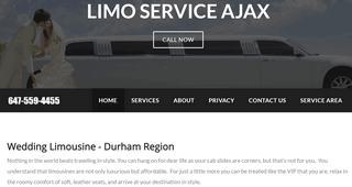 Limo Service Whitby
