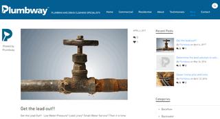 Plumbing Blog by Plumbway