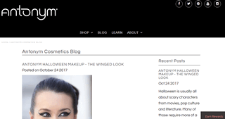 Antonym Beauty Blog