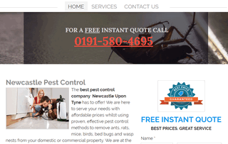 Pest Control Newcastle