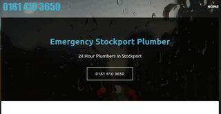24 hour plumber Stockport