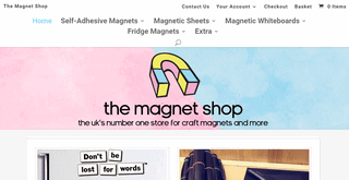 The Magnet Shop - Buy Small & Large Craft Magnets Online UK