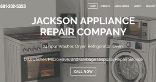 Jackson Appliance Repair Company