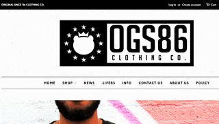 OGS86 Clothing Co. | Original Since Eighty Six Clothing | Positive Lifestyle Brand