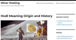 Miner Hosting