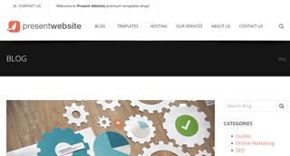 Present Website Blog