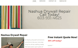 Nashua Drywall Repair