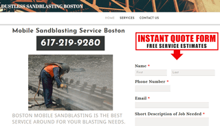 Boston Dustless Blasting