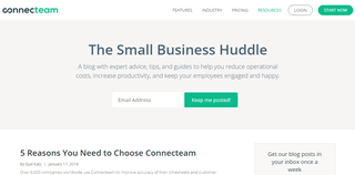 The Small Business Huddle
