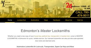 Edmonton Locksmith Services