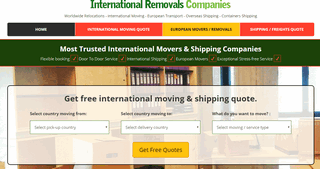 International Removals Companies