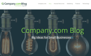 Small Business Resources Blog | Company.com
