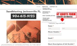 Sandblasting Jacksonville FL