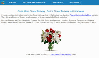 Costa Mesa Flower Delivery | Online Flower Delivery In Costa Mesa
