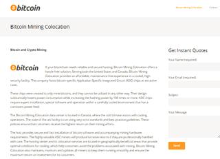 Bitcoin Mining Colocation