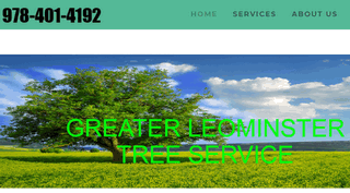 Greater Leominster Tree Service Leominster MA.