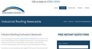 Industrial Roofing Newcastle