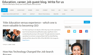 Education, Career, Job Guest Blog