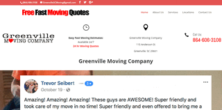 Greenville Moving Companies