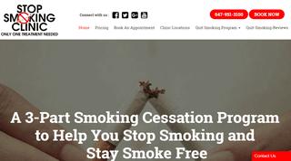 Laser Quit Smoking Toronto | Stop Smoking Clinic