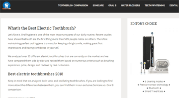 Best electric toothbrush lab
