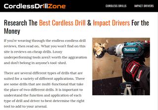 CordlessDrillZone.com