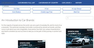 Top Car Brands & Logos in the World