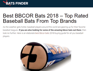 Bats Finder