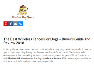 The Best Wireless Fences For Dogs