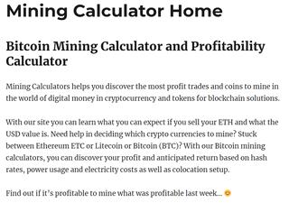 miningcalculators.org