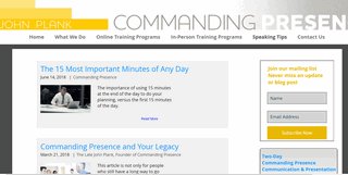 Commanding Presence Advanced Communication & Presentation Skills