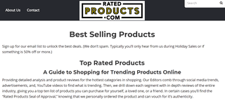 Rated Products - Shopping Reviews