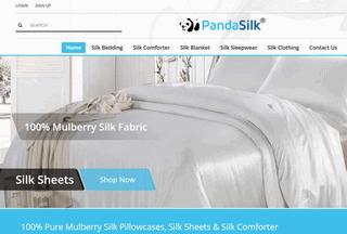 Panda Silk Bedding