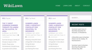 WikiLawn Lawn Care Blog