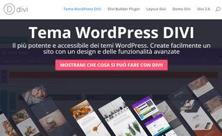 Tema Wordpress Divi