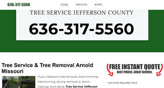 Tree Services Company Arnold Missouri