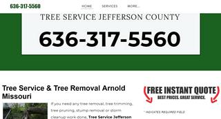 Tree Services Company Arnold Missouri