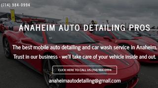 Auto Detailing Anaheim
