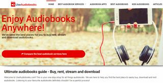 Use Audiobooks