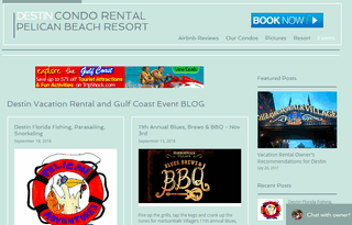 Destin Condo Rentals at Pelican Beach Resort