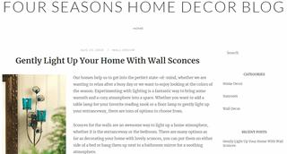 Four Seasons Home Decor Blog