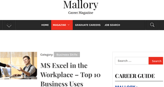 Mallory Career Magazine
