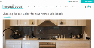 Choosing the Best Colour for Your Kitchen Splashbacks