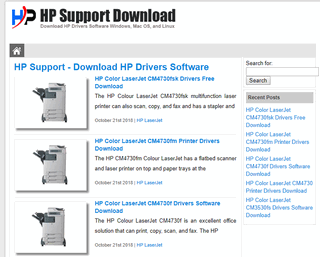 Support HP Download