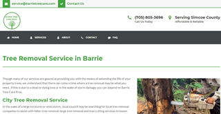 Tree Removal Service Barrie