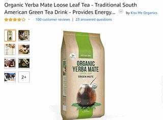 Yerba Mate on Amazon