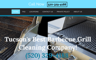 Tucson Grill Cleaning Service