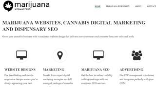 Marijuana Webmasters