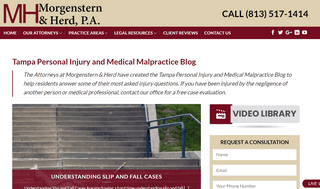 Tampa Personal Injury and Medical Malpractice Blog